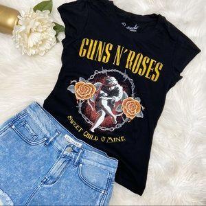 Bravado Guns N Roses Fitted Tee Sz M